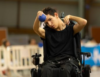 Ridoine vice-champion de France de Boccia